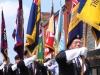 Flag bearers leading the parade